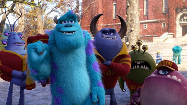 Monsters University. All images except where noted ©2013 Disney•Pixar. All Rights Reserved.