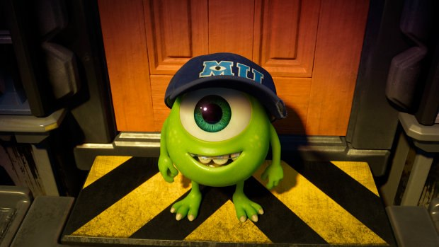 Young Mike Wazowski. All images ©2012 Disney/Pixar. All Rights Reserved.