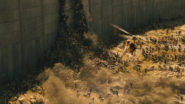 World War Z. Image credits: Motion Picture Company-London / Paramount Pictures. All images © 2013 Paramount Pictures. All Rights Reserved.