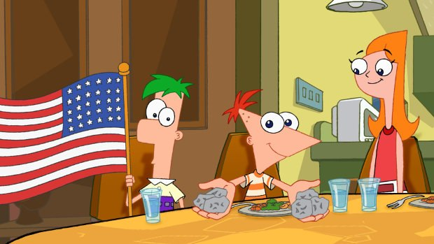 Phineas and Ferb. Image © 2013 Disney | ABC Television Group.