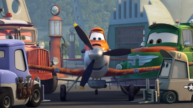 Disney's Planes. All images ©2013 Disney Enterprises, Inc. All Rights Reserved.