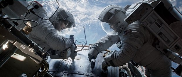 Gravity. Image © 2013 Warner Bros. Entertainment Inc.