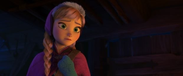 Anna, from Disney's upcoming feature film Frozen. Except where noted, all images © 2013 Disney. All Rights Reserved.