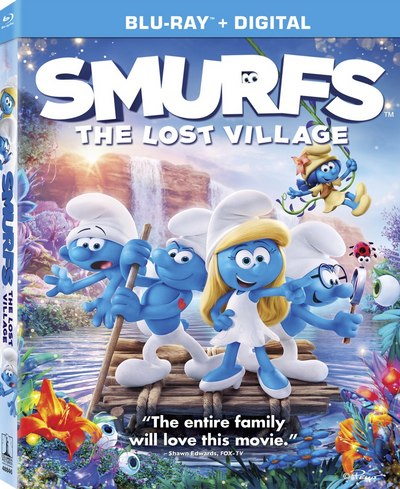 Sony s smurfs the lost village finds its way to blu ray - Hefty smurf the lost village ...
