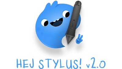 hej stylus offers digital artists full fledged stylus control on