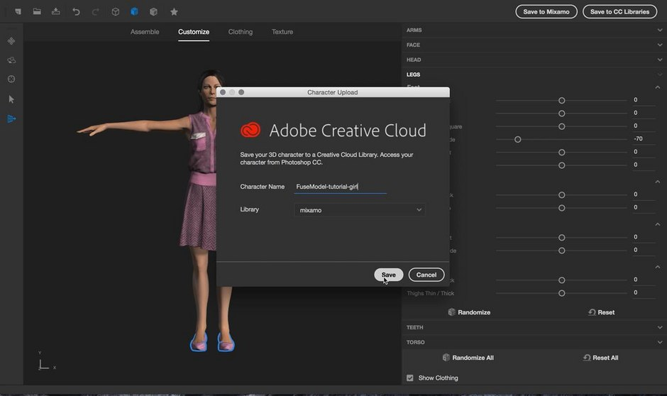 Create 3D-Animated GIFs with Adobe Fuse CC and Photoshop CC