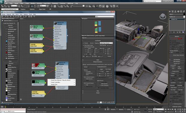 Slate is a new node-based material editor that helps significantly improve workflow and productivity.