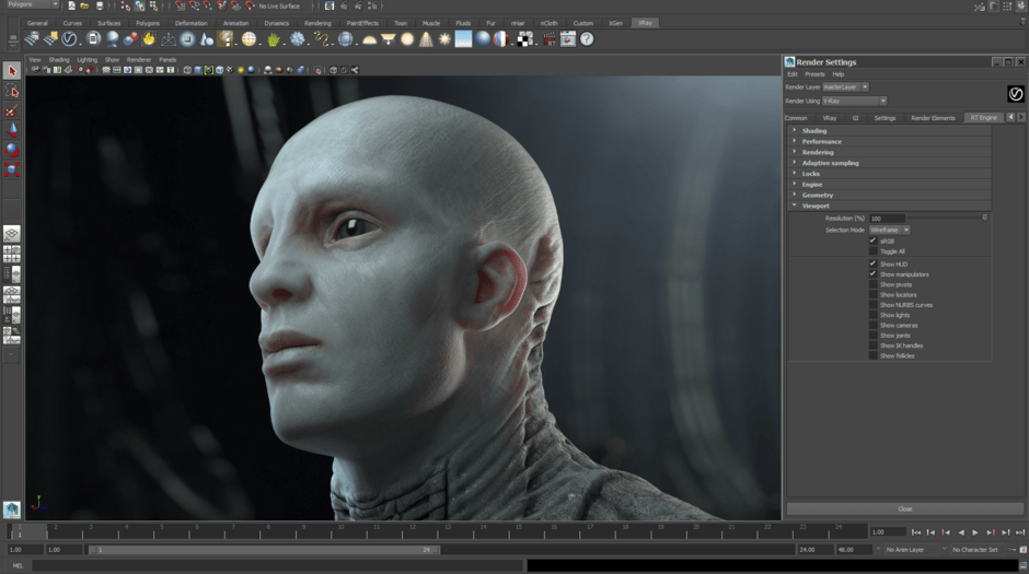 Chaos Group Releases V-Ray 3 0 for Maya | Animation World