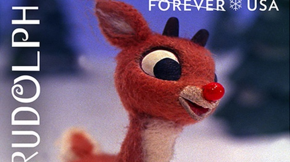 USPS Introduces 'Rudolph' Forever Stamp | Animation World Network