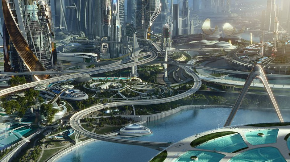 ILM and the VFX of a Futuristic 'Tomorrowland' | Animation