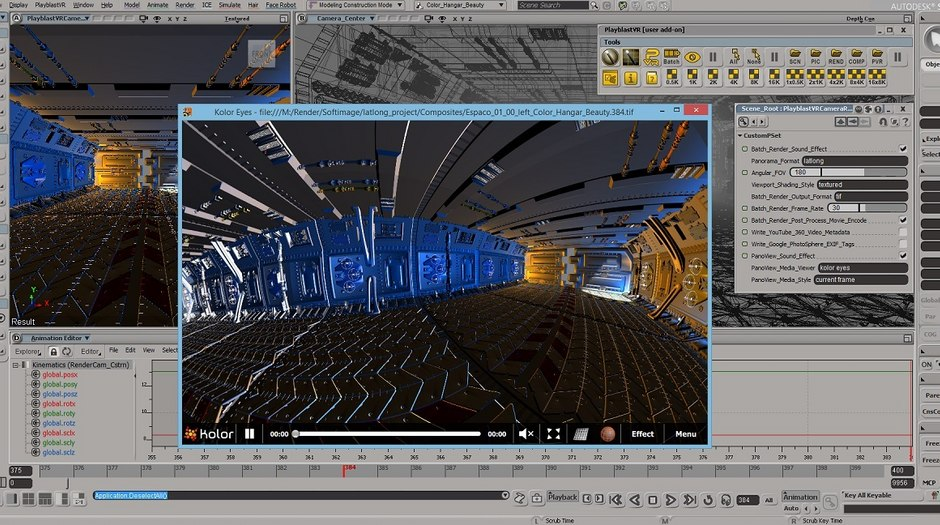 PlayblastVR Renderer for Softimage Now Available | Animation