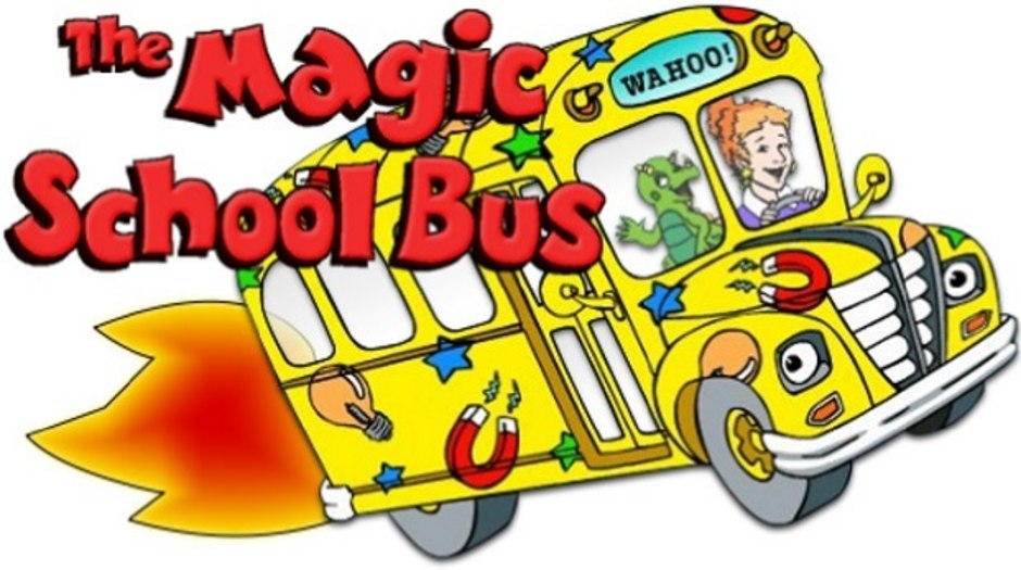 9 story to produce magic school bus reboot for netflix animation rh awn com magic school bus free clipart magic school bus free clipart