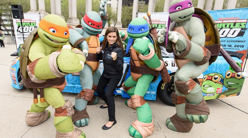 Nick Sponsoring 'Teenage Mutant Ninja Turtles' NASCAR Event