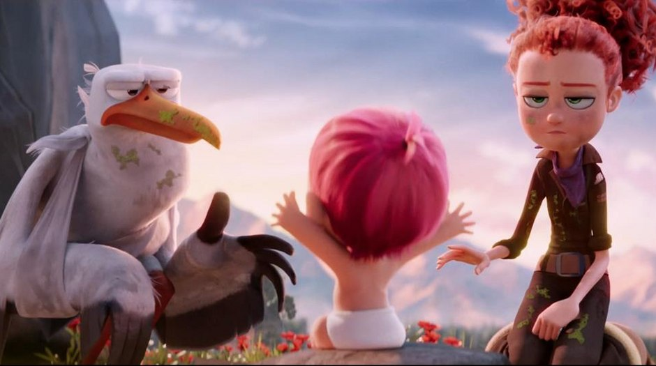 New 'Storks' Trailer Soars with Jason Derulo's 'Kiss the Sky