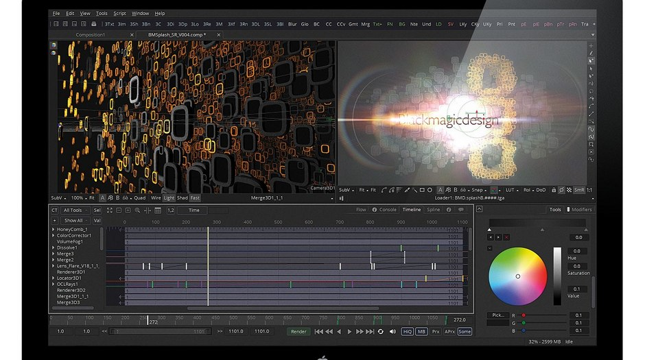 Blackmagic Design S Fusion 8 2 Now Shipping Animation World Network