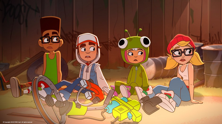 Subway Surfers Animated Shorts Series Premieres Animation