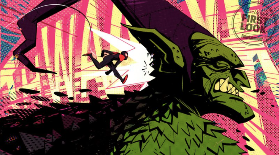 LOOK: Sony Reveals New Concept Art for 'Spider-Man: Into the Spider-Verse'