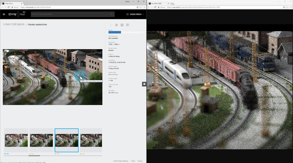 Chaos Group Opens V-Ray Cloud Beta with Free Rendering for a