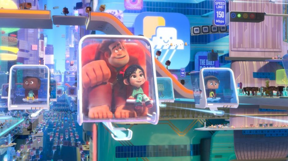 How Disney Designed The Retro Meets Modern Digital World Of Ralph Breaks The Internet Animation World Network