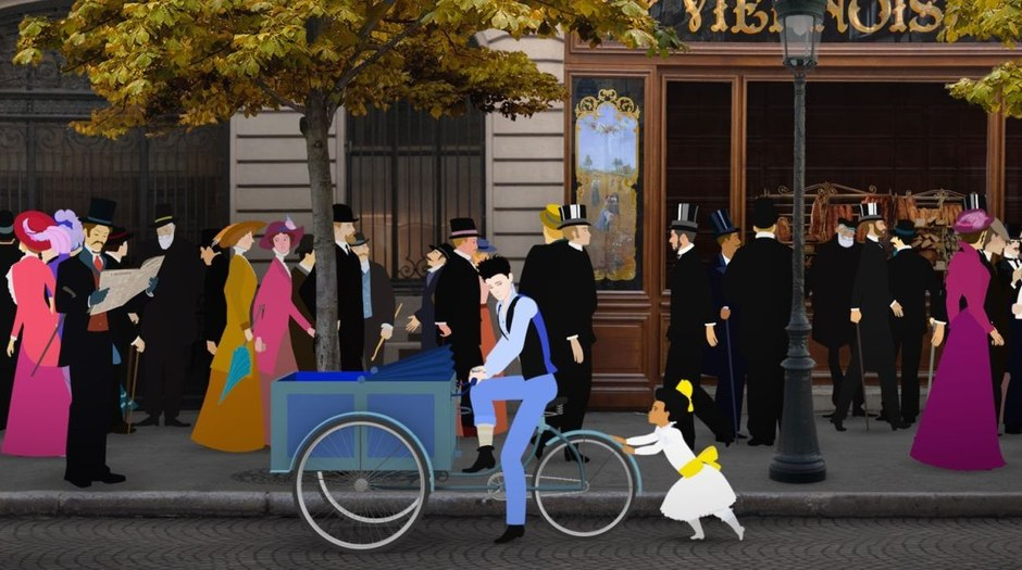 Exclusive Clip: Michel Ocelot's 'Dilili in Paris'
