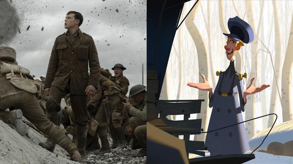 '1917,' 'Klaus' Win 2020 BAFTA Awards