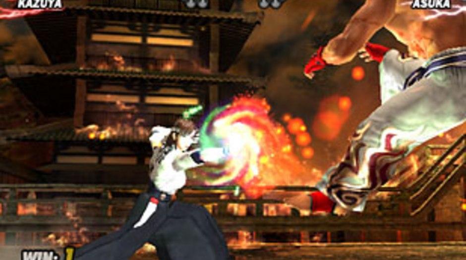 tekken 5 ps2 fighting games