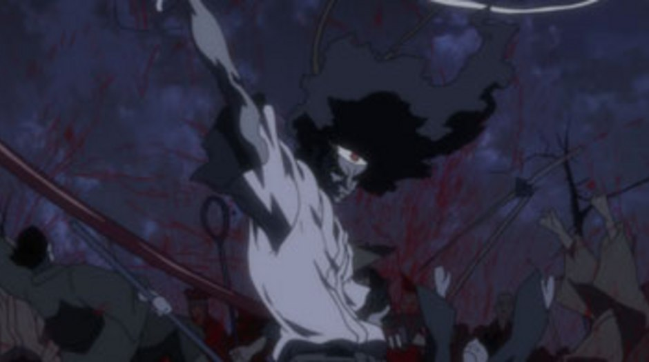 Afro Samurai Anime Meets Blaxploitation Animation World Network
