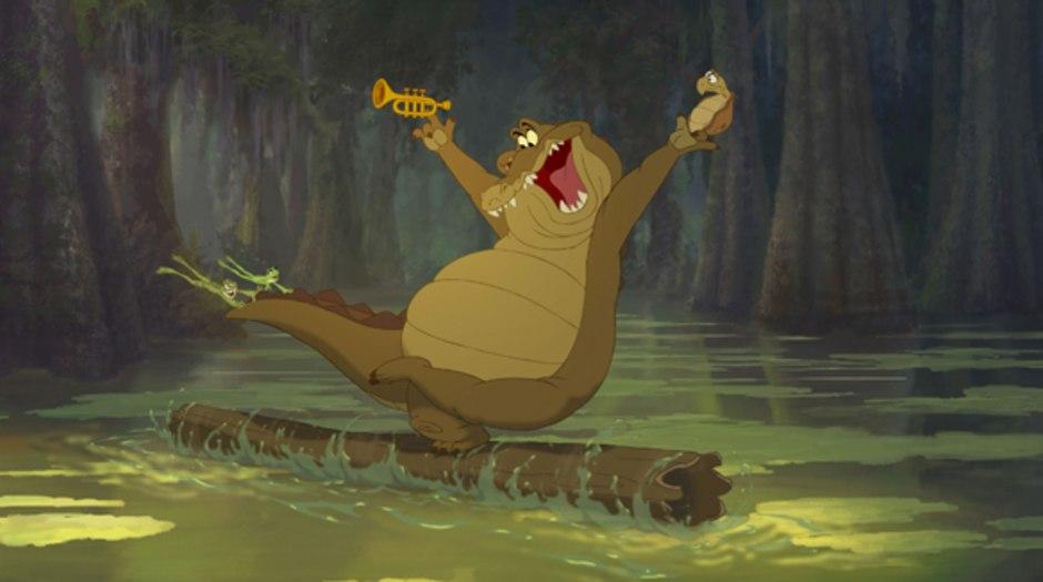 Goldberg Deja And Smith Talk Princess And The Frog Animation