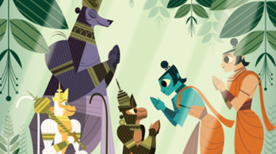 Sanjay Patel Talks 'Ramayana: Divine Loophole'   Animation