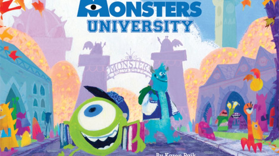 Book Review The Art Of Monsters University Animation World Network