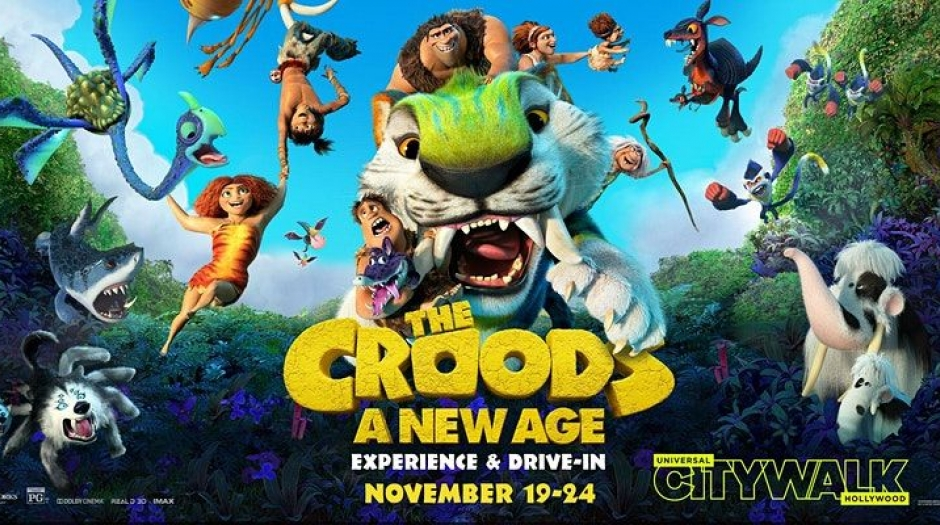 The Croods: A New Age' Drive-In Screenings November 19-24 | Animation World Network