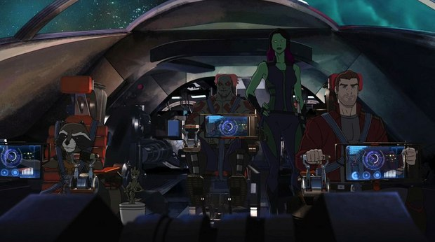 Inside Marvel's Animated 'Guardians of the Galaxy' Series