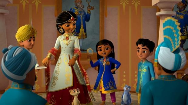 Disney Brings India's Vibrant Culture to US Preschoolers in 'Mira, Royal Detective'