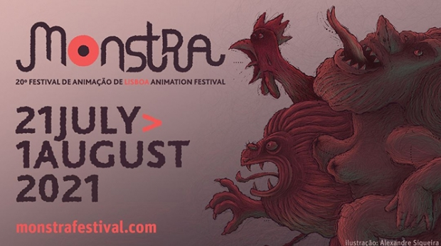 MONSTRA – The 20th Lisbon Animation Festival 21 July to 1 August 2021-Lisbon, Portugal