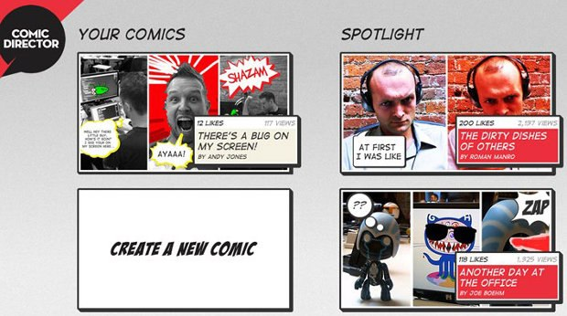So You Want to Be in Pictures: Creating the Comic Director App