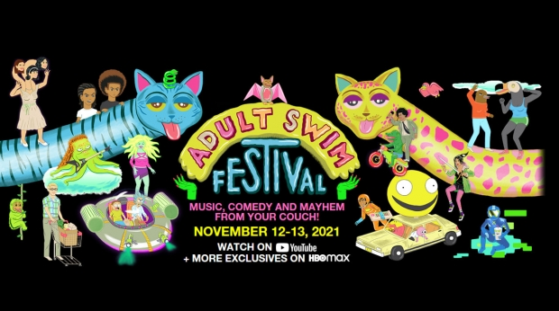 2021 Adult Swim Festival Coming to Screens Everywhere