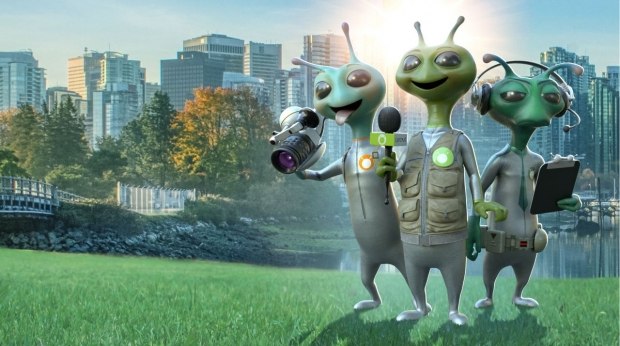 eOne and POP Family Launch Global 'Alien TV' Invasion