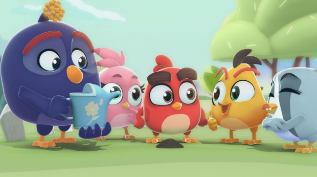 Bite-Sized 3D 'Angry Birds Bubble Trouble' Series Released on Amazon FreeTime Unlimited