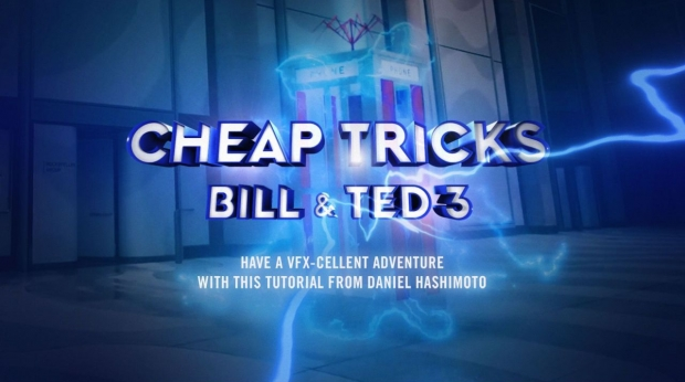 New Cinema 4D Tutorial Recreates Bill and Ted's Iconic Phone Booth Time Machine
