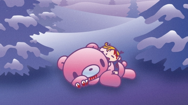 'Gloomy the Naughty Grizzly' Anime Series Premieres April 12
