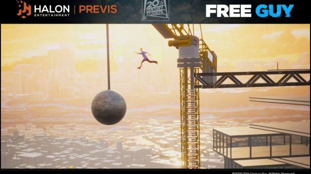 Halon Gets its Previs Game On for 'Free Guy'