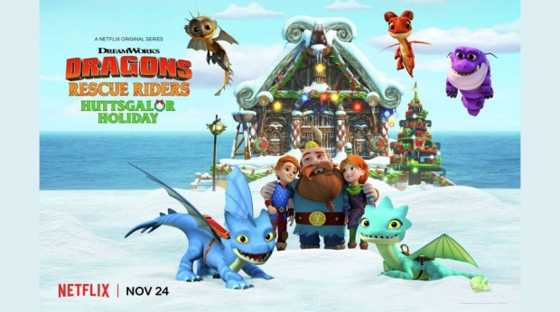 'Dragons Rescue Riders Huttsgalor Holiday' Premieres on Netflix November 24