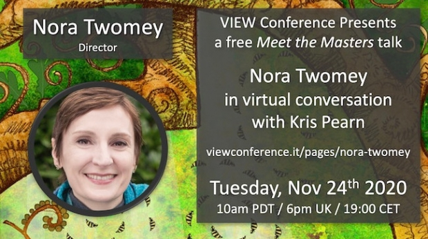 VIEW 2020 Debuts Meet the Masters: Nora Twomey–Kris Pearn in Conversation