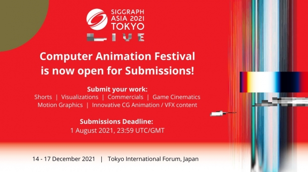Call for Submissions: SIGGRAPH Asia 2021 Computer Animation Festival