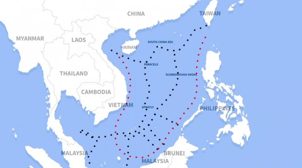 Streaming into the South China Sea