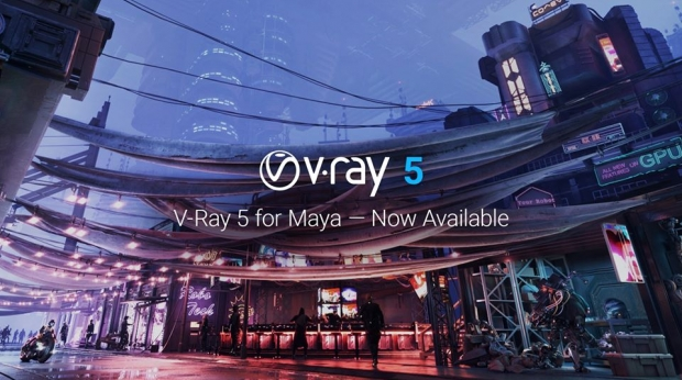V-Ray 5 for Maya Now Available