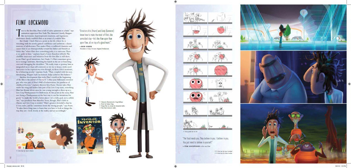 Book Review: 'The Art of Cloudy with a Chance of Meatballs 2