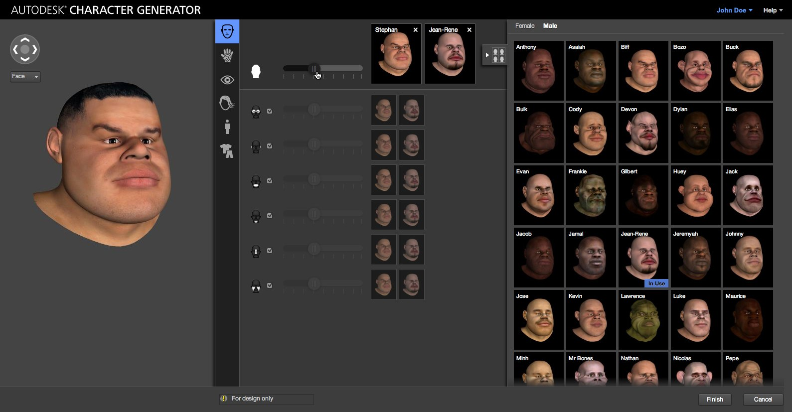 Autodesk Rolls Out Cloud Based 3d Character Generator