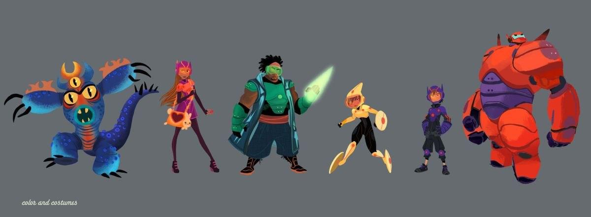Conceptualizing Disney S Big Hero 6 Animation World Network