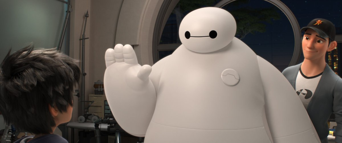 Baymax di film Big Hero 6. (Foto Oh My Disney)